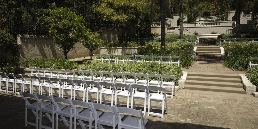 Wattles Mansion and Gardens wedding Los Angeles