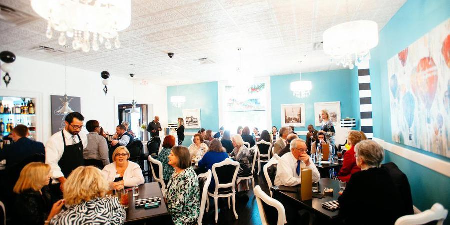 The Candy Apple Café wedding Jacksonville