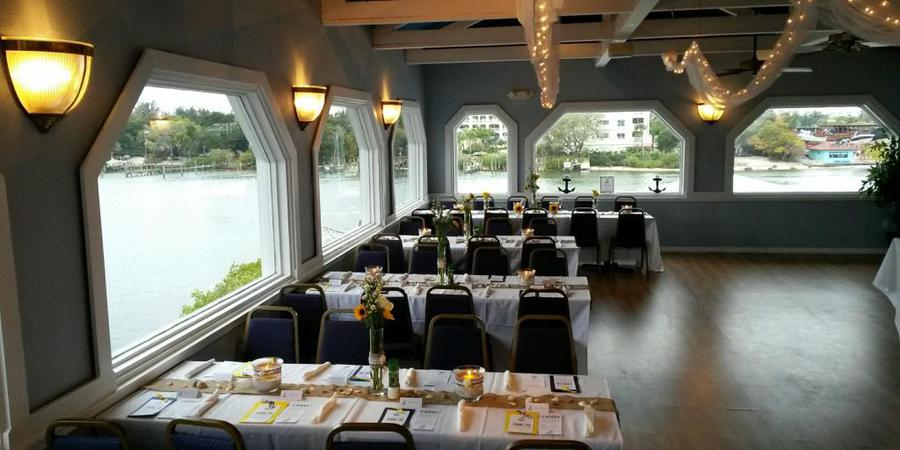 Boatyard Waterfront Bar & Grill wedding Tampa