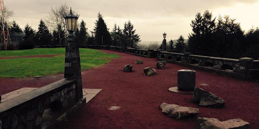 Rocky Butte Summit wedding Portland