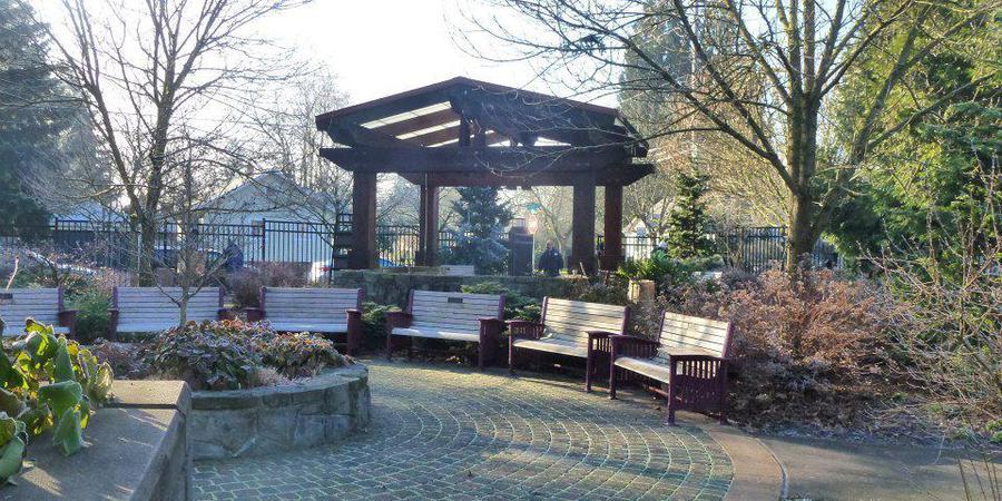 Portland Memory Garden wedding Portland