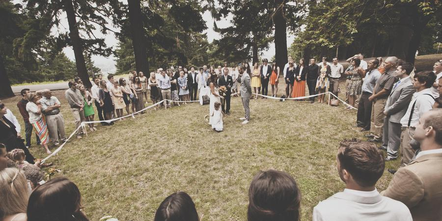 Mt. Tabor Summit wedding Portland