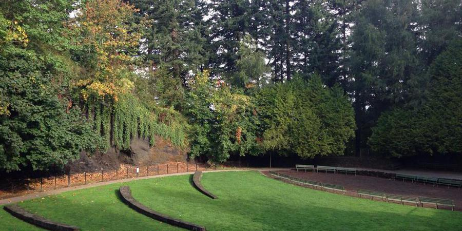 Mt. Tabor Amphitheater wedding Portland