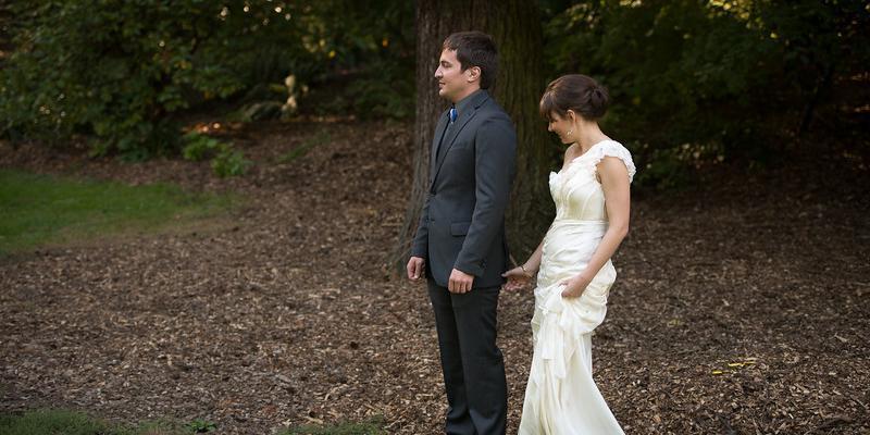 Laurelhurst Park Stairs wedding Portland