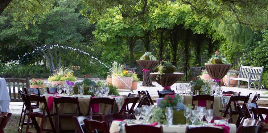 San Antonio Botanical Garden wedding San Antonio