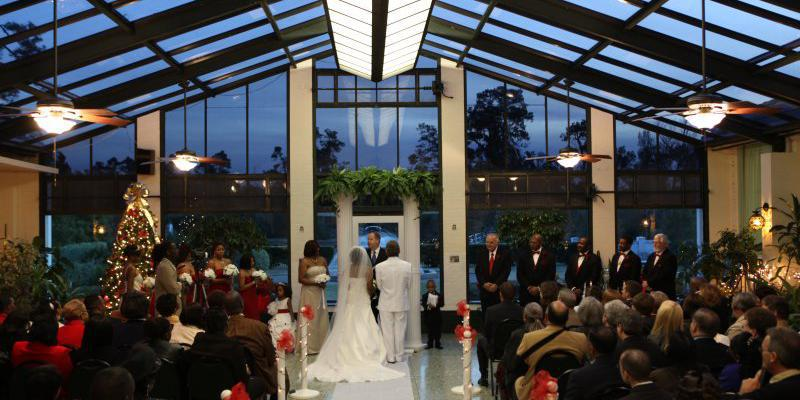 The Brown Estate of Lamar State College wedding Houston
