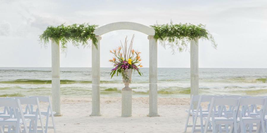 Edgewater Beach and Golf Resort wedding Northwest Florida
