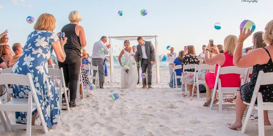 Majestic Beach Resort wedding Northwest Florida