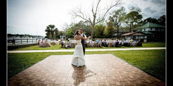 Ortega River Club wedding Jacksonville