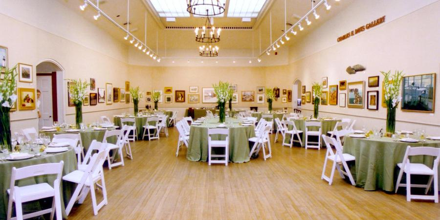 Mystic Museum of Art (formerly Mystic Arts Center) wedding New London