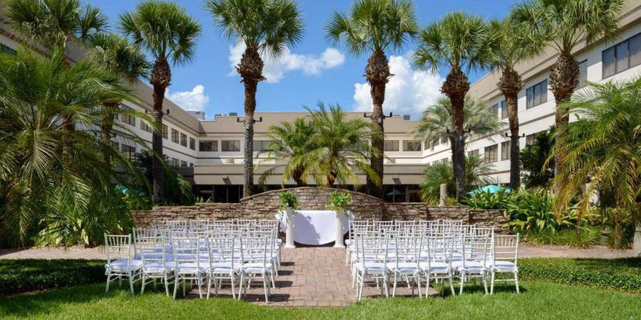 Sheraton Suites Orlando Airport wedding Orlando