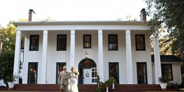 Southwood House wedding Northwest Florida