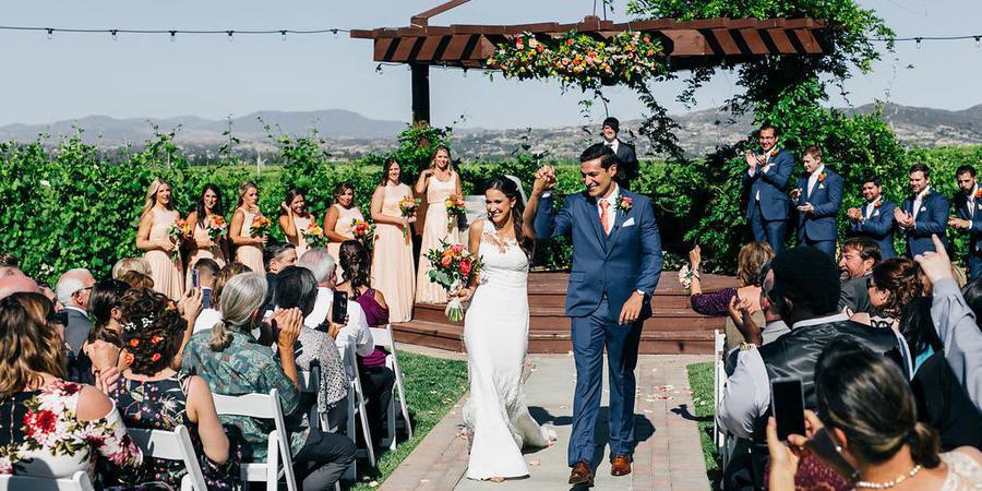 Lorimar Vineyards & Winery wedding Inland Empire