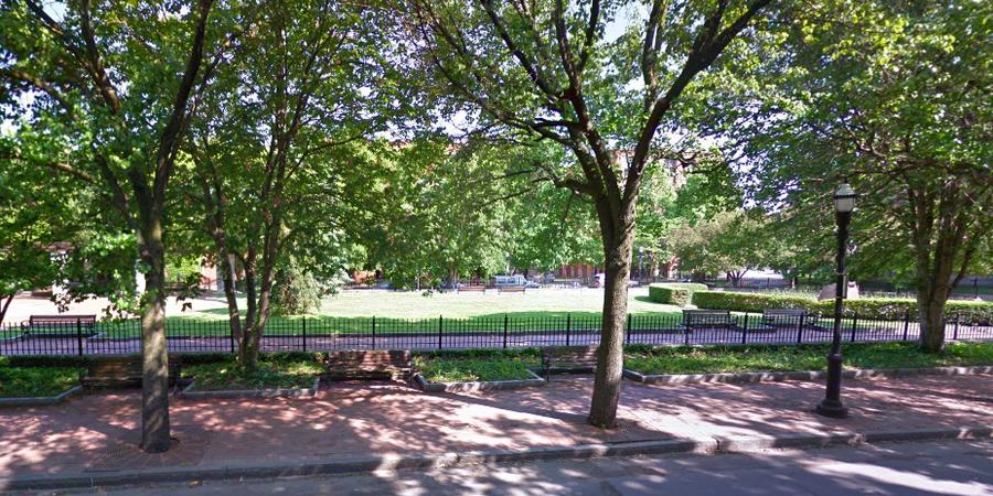 Franklin Square Park wedding Finger Lakes