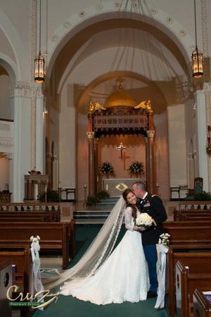 Saint Mary Our Lady of Grace Catholic Church wedding Tampa