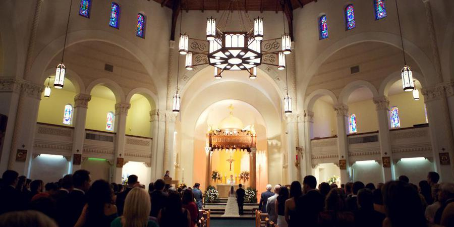 Saint Mary Our Lady of Grace Catholic Church wedding Tampa
