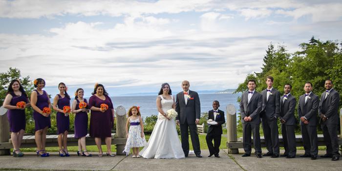 Daybreak Star Indian Cultural Center wedding Seattle