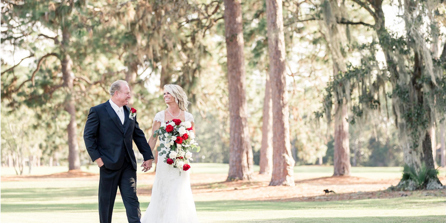 Panama Country Club wedding Northwest Florida