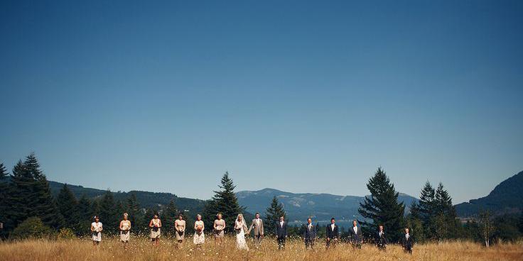 Skamania Lodge wedding Yakima