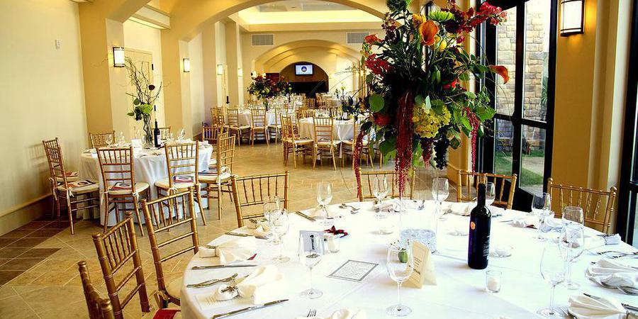 Grand Room of Holy Trinity Center wedding Pittsburgh
