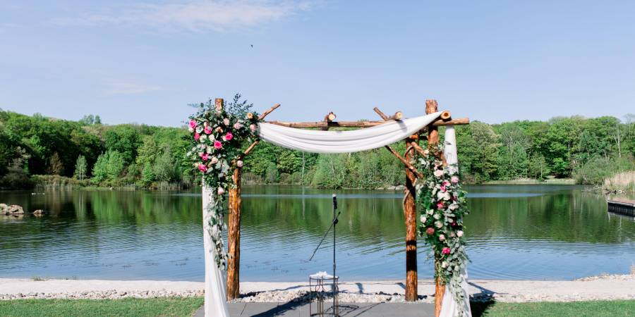 Rock Island Lake Club wedding North Jersey