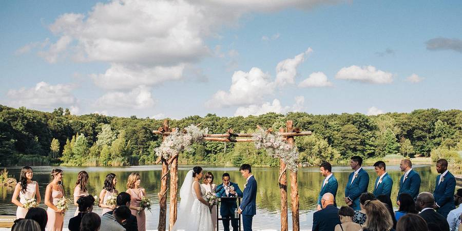 Rock Island Lake Club wedding North Jersey