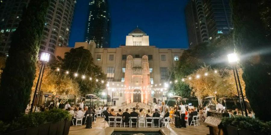 Café Pinot wedding Los Angeles