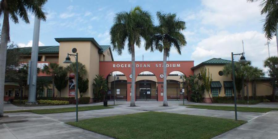 Roger Dean Stadium wedding Boca Raton