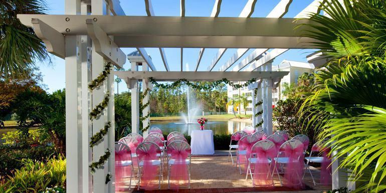 Sheraton Vistana Villages International Drive wedding Orlando
