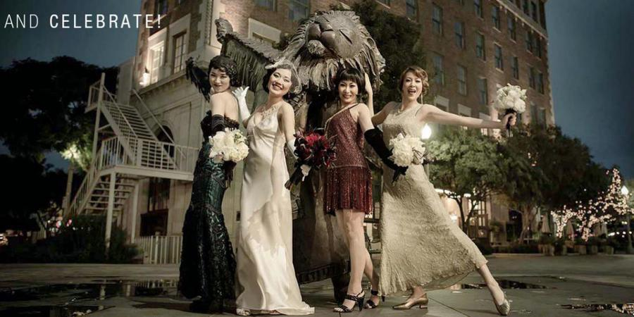 The Culver Hotel wedding Los Angeles