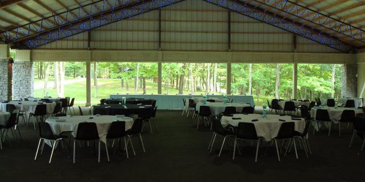 Festival Pavilion at Pyramid Hill Sculpture Park wedding Cincinnati