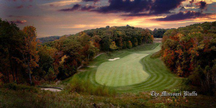 Missouri Bluffs Golf Club wedding St. Louis