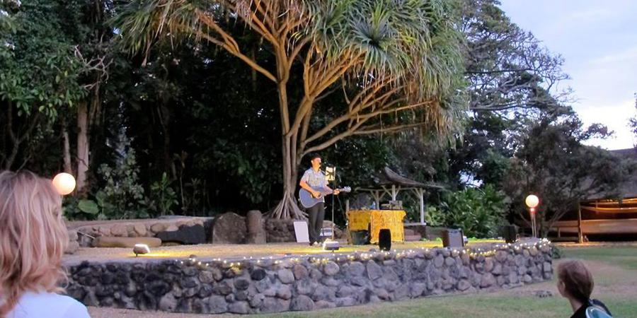 Hale Hōʻikeʻike at the Bailey House wedding Maui