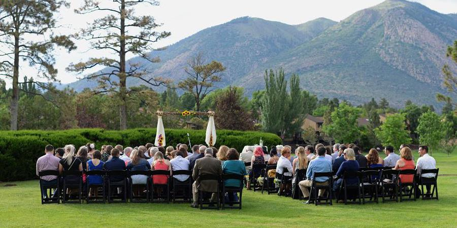 The Venue at Oakmont wedding Sedona/Flagstaff