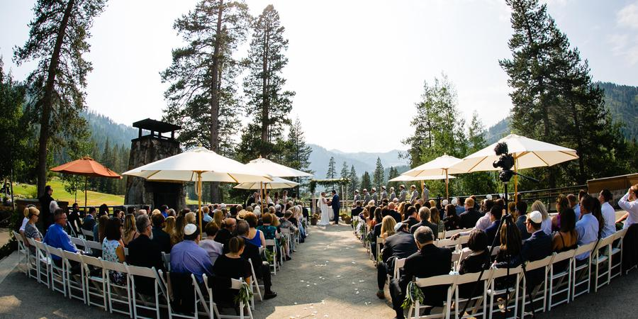 Resort at Squaw Creek wedding Tahoe