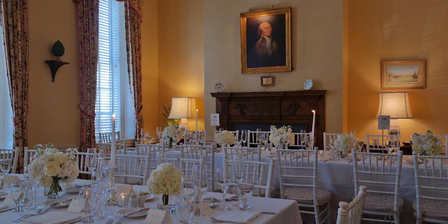 City Tavern Club wedding Washington DC