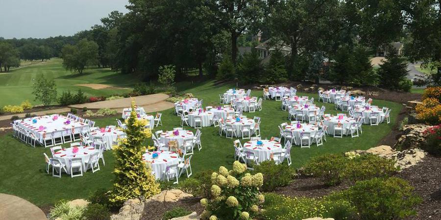 Oak Meadow Country Club wedding Southern Indiana