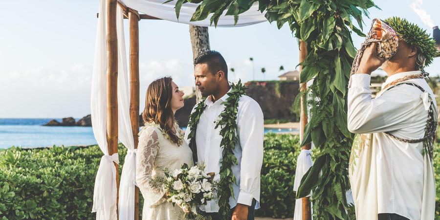 Ka'anapali Beach Hotel wedding Maui
