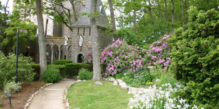 Hammond Castle Museum wedding North Shore