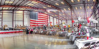 Valiant Air Command Warbird Museum wedding Central Florida Beaches/Coast