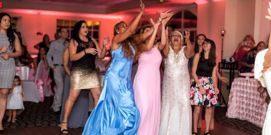 Crescent Oaks Country Club wedding Tampa