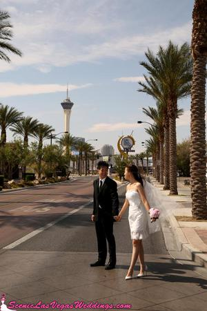 Scenic Las Vegas Chapel wedding Las Vegas