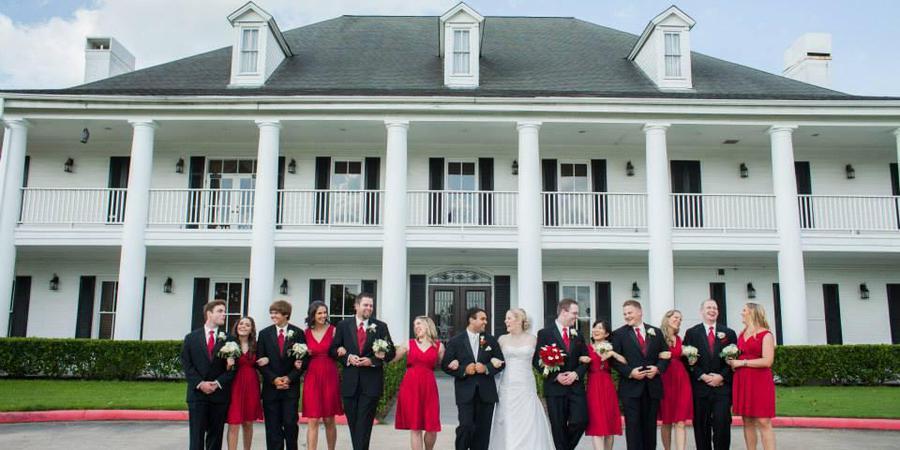 Pecan Grove Plantation Country Club wedding Houston