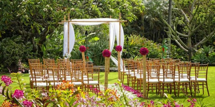 Plantation Gardens Restaurant and Bar wedding Kauai