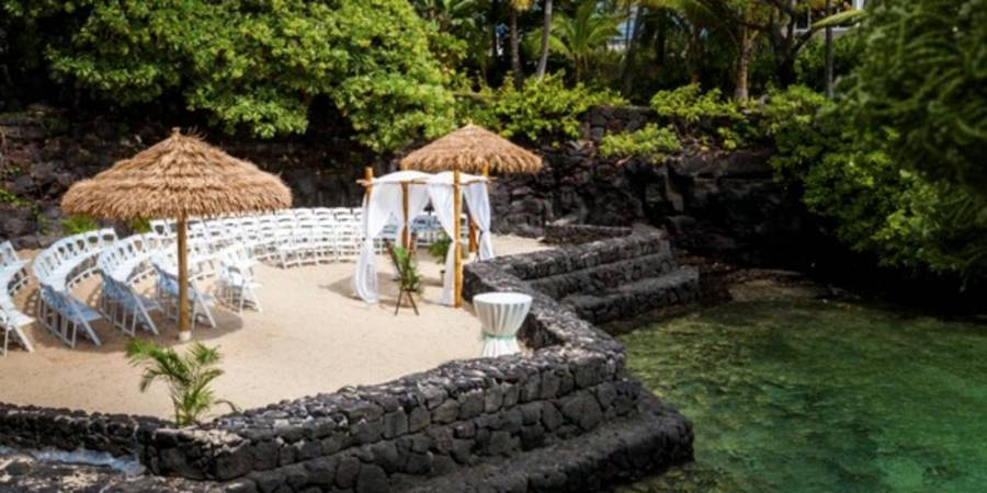 The Royal Kona Resort wedding Hawaii (Big Island)