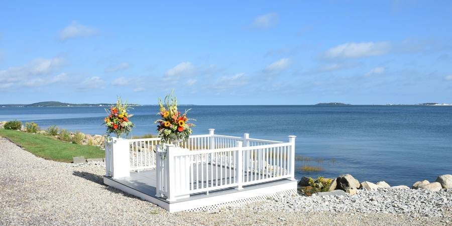 Hotel 1620 Plymouth Harbor wedding South Shore