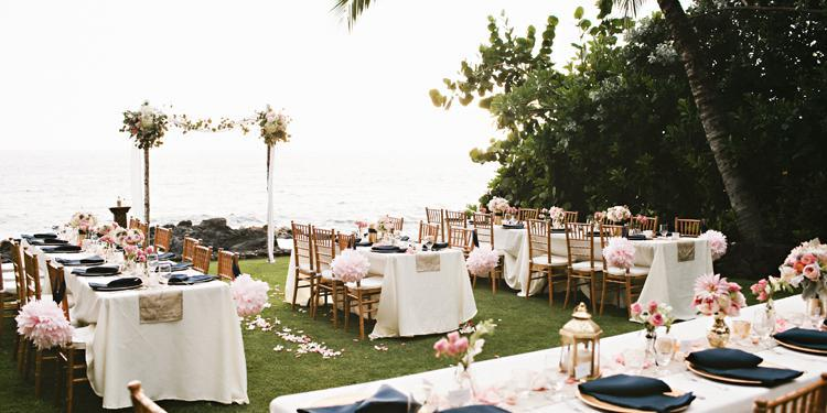Kona Beach Bungalows wedding Hawaii (Big Island)