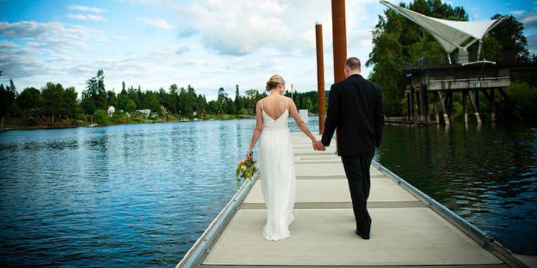 The Foundry at Oswego Pointe wedding Portland