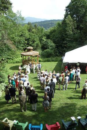 Timberholm Inn wedding Vermont