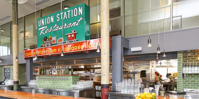 The Kitchen - Next Door Union Station wedding Denver